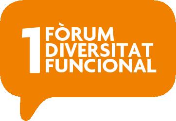 Logo 1r Fòrum Diversitat Funcional