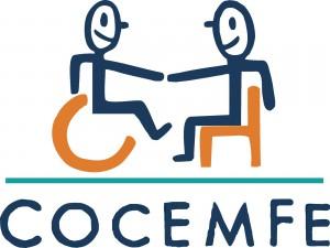 Logo COCEMFE Barcelona