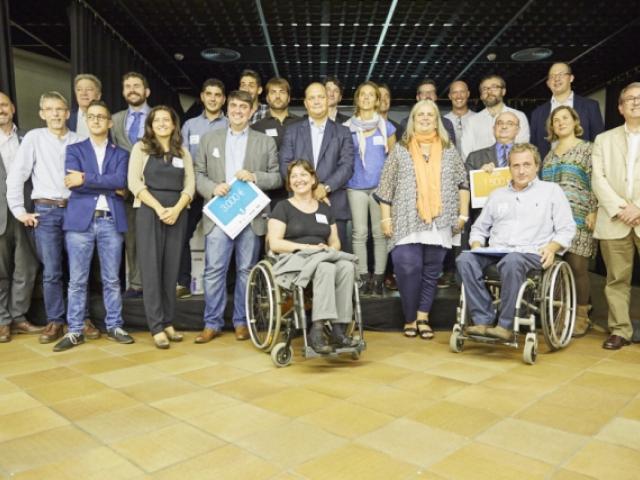 Participants, jurat i organitzadors Apps per a Tothom