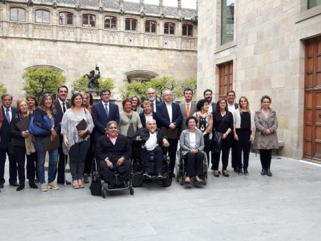 Acord de Prioritats en favor de les Persones amb Discapacitat