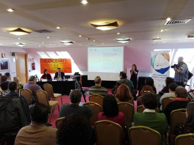 Presentación del estudio Discapacidad y TIC en Ciudad Real