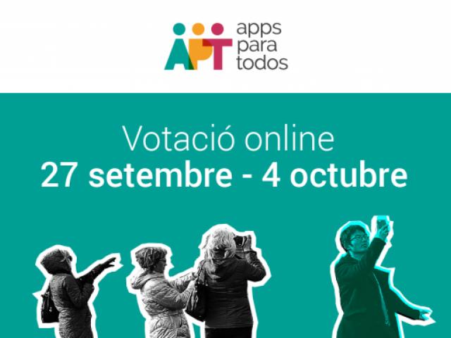 Apps per a Tothom Votació online