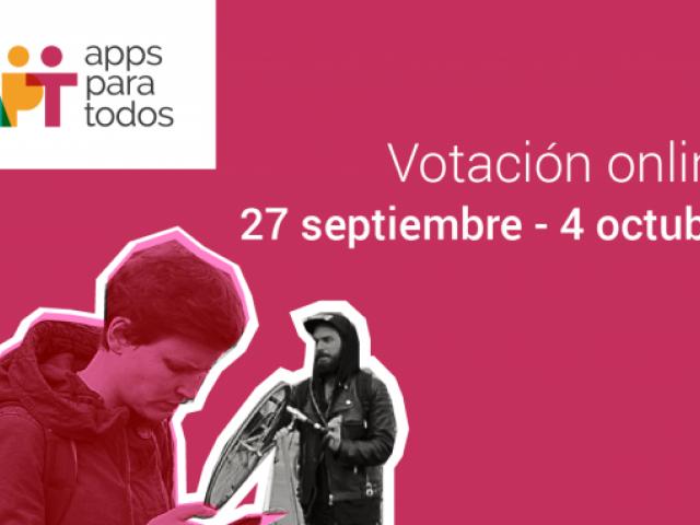 Apps para Todos Votación online