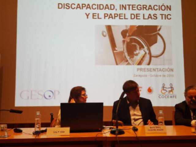 El Observatorio de la Discapacidad Física presenta Aragón #di_capacidad, las TIC al servicio de las personas