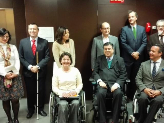 Jornada 19 Abril (Madrid) Observatorio de la Discapacidad Física  en el marco del Foro Interautonómico de Buenas Prácticas en Discapacidad Física y Orgánica de FAMMA-COCEMFE Madrid