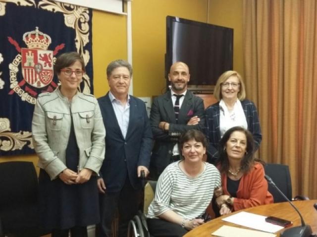 COCEMFE Barcelona presenta a Madrid l'Observatori de la Discapacitat Física al Real Patronat Sobre Discapacitat