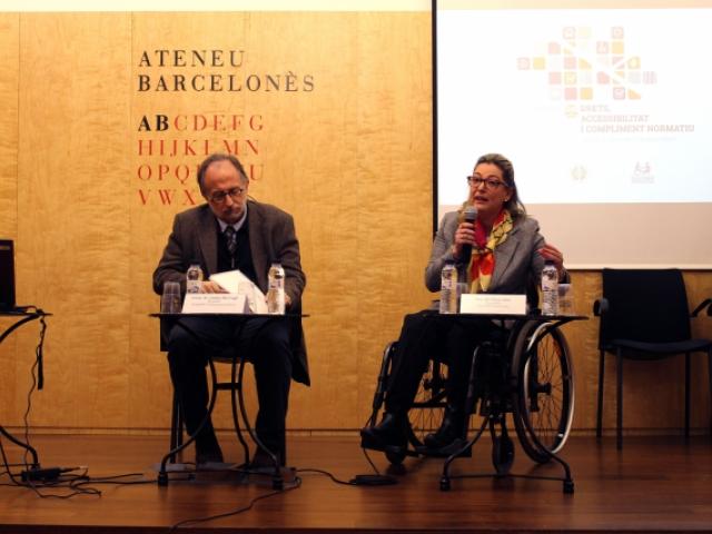 COCEMFE Barcelona y el Consejo de la Abogacía Catalana colaborarán para combatir el incumplimiento de la ley de accesibilidad